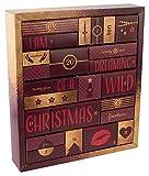 Erotik Adventskalender 2018 - erotischer Weihnachtskalender für Erwachsene, perfekte Geschenk-Idee, 24 Türchen mit Sex-Toys, Dessous, Kondomen, Gleitgel und vielem mehr