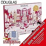 Douglas Beauty Adventskalender New York 2019 - idealer Advent Kalender für die Frau, Beautykalender im Wert von 200 €, Kosmetikkalender mit 24 Beauty Produkten für Damen, Makeup Parfum Ampullen