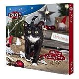 Trixie 9269 TRIXIE Adventskalender für Katzen, 30 × 34 × 3,5 cm