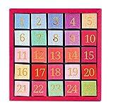 English Tea Shop - Tee Adventskalender 'Pink Christmas', 24 einzelne Boxen mit würzigen BIO-Tees in hochwertigen Pyramiden-Teebeutel