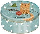 Adventskalender Tannenbaum und Katzenglück - Mit Samtpfoten durch den Advent - Eine Katzengeschichte auf 24 Karten in Blechdose zum Aufhängen