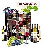 Wein Adventskalender mit 24 außergewöhnlichen Weinsorten aus aller Welt | Geschenk für Erwachsene| Wein aus verschiedenen Ländern trinken | neue Rotweine Weißweine probieren | Weinselektion