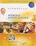 Huber-Kölle Gewürz-Advenskalender Schuhbeck´s 'Würzige Weihnachten', 1er Pack (1 x 319 g)