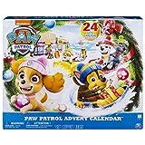 Paw Patrol 6045038 Paw Patrol-6045038-PAW Patrol Adventskalender – 24 Überraschungen – hochwertige Kunsstoff Figuren und Zubehör, Multicolour, Norme