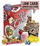 Low Carb Adventskalender I Kalender Adventszeit für kohlenhydrahtarme Ernährung I Geschenkidee für Fitnessbewusste I verschiedene Snacks ohne Kohlenhydrahte I für Erwachsene