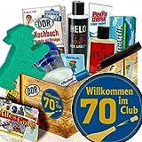 Geschenkidee Geburtstag 70 / Männer Pflegeset DDR / Wilkommen im Club 70