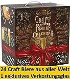 Kalea Craft Beer Adventskalender 2019 | 24 x 0.33 l Craft Biere | Geschenkidee Zur Vorweihnachtszeit
